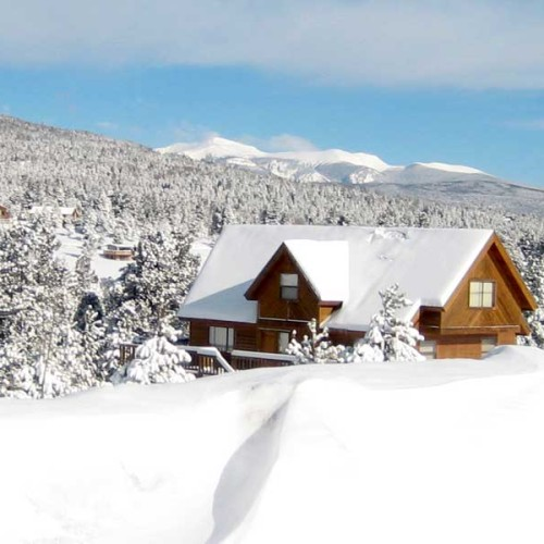 snowy-rental-house