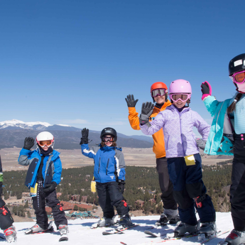 Mountain Explorers Ski Lesson Program (Ages 6-9)