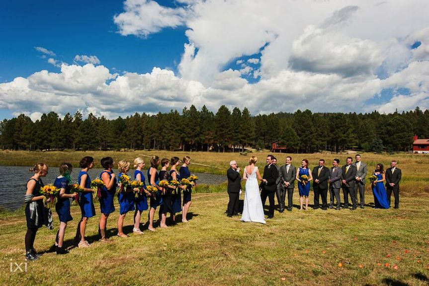 Monte Verde Lake Wedding Party