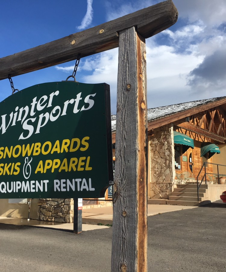 Angel FIre New Mexico Ski Shop